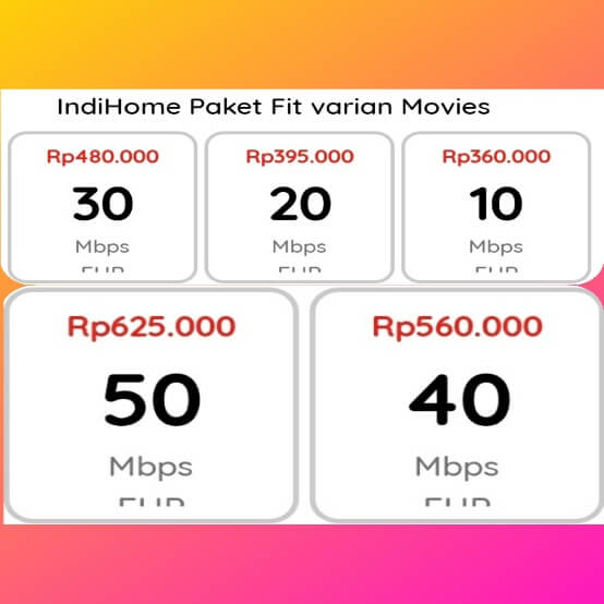 indihome fit varian movies